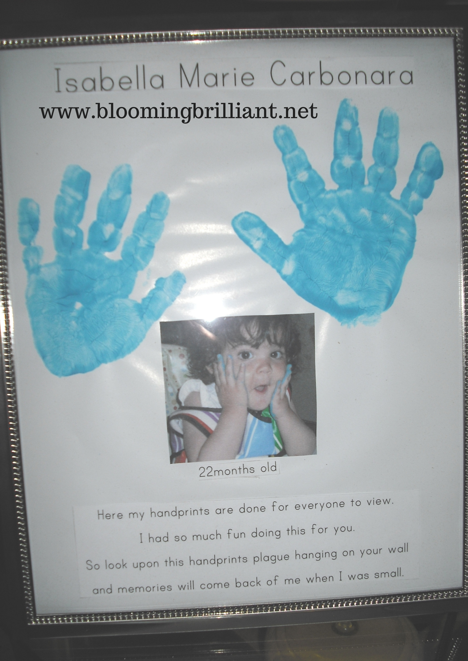DIY Father's Day Gift for Kids - Blooming Brilliant