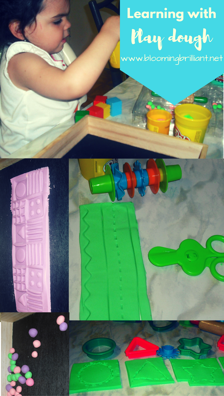 Learning Basic Math Skills with Play Dough