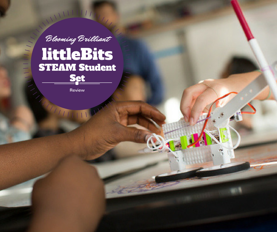 Little Bits STEAM Student Set is perfect to get your children excited about STEAM in your homeschool or classroom