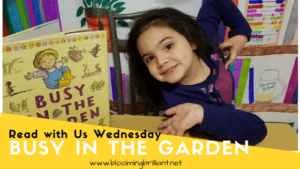 Busy In The Garden  #KidLit #BookReview