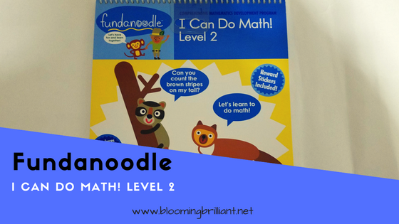 Children learn numbers 0-20, as well as skills like counting, sets and greater than/less than in Fundanoodle I Can Do Math Level 2 book covering essential math concepts.