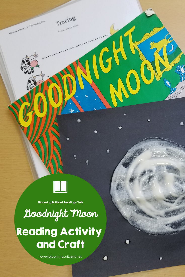 Goodnight Moon Reading Extension and Craft